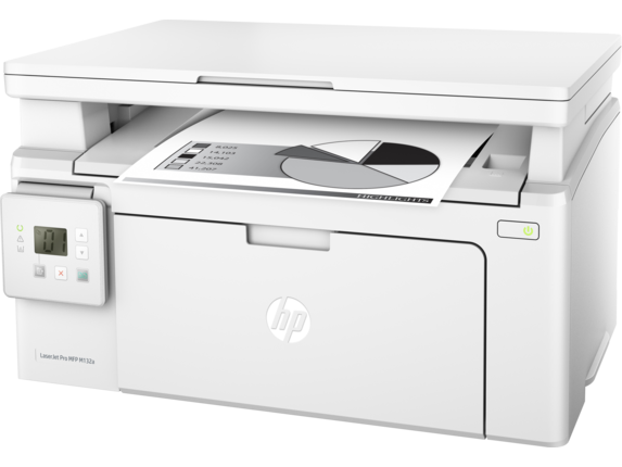 МФУ HP LJ M132a <G3Q61A> принтер/сканер/копир, A4, 1200dpi, 22 ppm, 128 Mb, 1 tray 150, USB, Flatbed, Cartridge 1400 pages in box, 1y warr., repl. CZ177A)